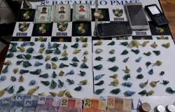 Três pessoas são presas e uma apreendida por tráfico de drogas em Alta Floresta