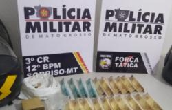 Sorriso: policiais militares são recebidos a tiros durante checagem de tráfico de drogas