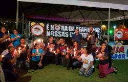 Servidores da Educação em greve fazem vigília na Assembleia Legislativa