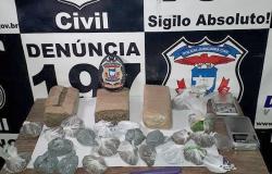 Com mais de 1kg de maconha, homem é preso por tráfico em Alta Floresta