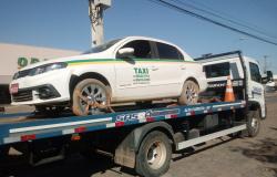 Taxista é rendido por assaltantes e tem carro levado em Alta Floresta