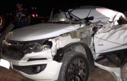 Matupá: Violenta colisão entre caminhonete e caminhão deixa um morto