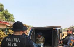 Dois foragidos da Justiça foram presos durante Operação Integrada em Apiacás