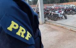 PRF realiza leilão de 132 veículos apreendidos em MT há mais de 60 dias
