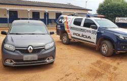 Suspeito usando carro clonado é preso em Nova Bandeirantes