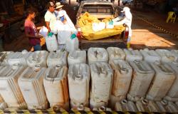 Secretaria de Agricultura promove coleta de embalagens vazias de agrotóxicos em Nova Monte Verde