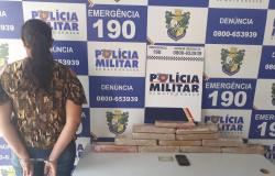 Peixoto de Azevedo: Denúncia auxilia prisão de mulher com 12 tabletes de maconha que seriam levados ao Pará