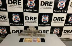 Traficantes são detidos com tabletes de maconha que seriam comercializados em Tabaporâ