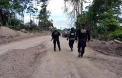 Operação contra garimpo ilegal em Mato Grosso envolve 160 policiais