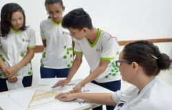 Materiais pedagógicos adaptados para cegos são produzidos por alunos do Campus Alta Floresta
