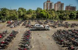 Detran lança último leilão do ano com mais de mil veículos de diversos municípios do Estado