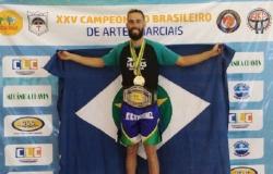 Tetracampeão de kickboxing compete neste final de semana mundial de jiu-jitsu na Califórnia