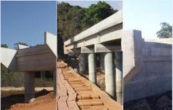 Prefeita de Nova Monte Verde cobra agilidade nas obras em encabeçamento das pontes de concreto na MT-208