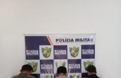 PM prende trio suspeito de roubar carreta com combustível em Guarantã