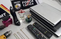 Força Tática apreende adolescentes por furto à residência em Sorriso