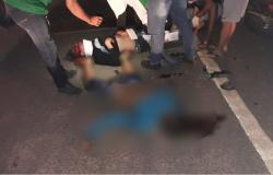 Choque frontal entre moto e carro deixa um morto um feridos em Nova Monte Verde