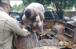 PM de MT prende 2 mulheres e apreende 280 kg de maconha escondidos em veículo