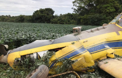 Avião cai em Mato Grosso e piloto morre