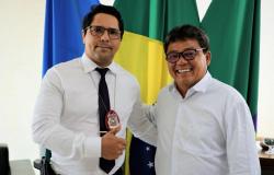 Delegado Eugênio Rudy visita Prefeitura de colider e anuncia nova viatura
