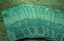 Notas falsas de cem reais são apreendidas em Mato Grosso
