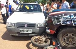 Jovem ferida em acidente de transito em Alta Floresta aguarda vaga em UTI