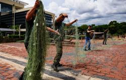 Sema aumenta em 236% apreensão de redes de pesca durante piracema