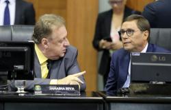 Romoaldo Júnior pede a governador pagamento de emendas ao Parlamento