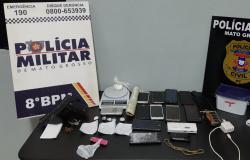 Dez suspeitos de tráfico são detidos em operação conjunta em Carlinda