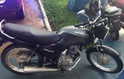 Alta Floresta: Adolescentes são detidos com moto furtada da prefeitura municipal