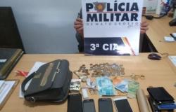 Cinco pessoas são detidas por tráfico de drogas em Colider