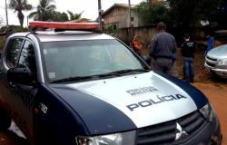 Nova Monte Verde: Ladrões se dão mal ao tentar roubar caminhão carregado com escavadeira