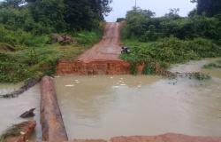 Paranaita: aulas em quatro escolas rurais são suspensas por estragos causados pela chuva
