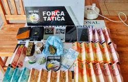 Quatro são detidos por tráfico de drogas em Alta Floresta