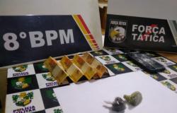 Jovem é detido por tráfico de drogas e direção perigosa em Alta Floresta