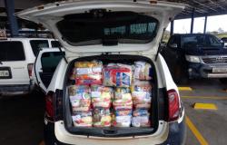 Polícia Civil arrecada 50 cestas básicas destinadas a famílias carentes em Nova Monte Verde