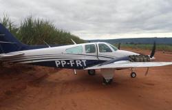 Avião que decolou de Alta Floresta tem hélice quebrada e faz pouso de emergência em Quirinópolis/GO