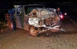 Seis pessoas da mesma familia morrem em colisão entre Gol e camionete