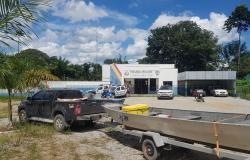Após denúncia, PM apreende arma e munições e pescado irregular em Paranaíta