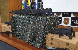 Polícia Civil entrega fuzis e submetralhadoras para regional de Alta Floresta e outras 12 regionais do estado