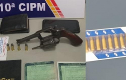 Armas de fogo tiradas de circulação em Terra Nova do Norte e Aripuanã