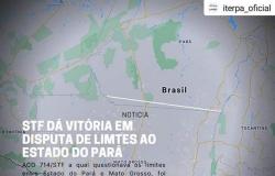 Divisão entre Estados: STF dá vitória ao Pará em disputa de limites geográficos com Mato Grosso