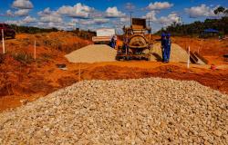 MT-208: Governo avança na execução das obras de pavimentação de 41 km em Aripuanã