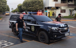 Polícia Civil prende homem que tentava fazer transferência de R$ 30 milhões desviados de contas bancárias
