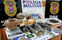 Presos por vários roubos em Alta Floresta podem estar ligados ao tráfico