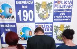 Polícia Militar de Paranaíta prende três por tráfico de drogas