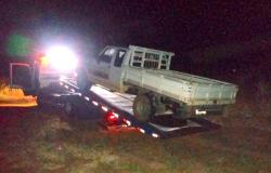 Alta Floresta: Policiais recuperam caminhonete furtada carregada com caixas de cerveja