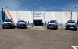 9º Comando Regional da Polícia Militar em Alta Floresta recebe quatro novas viaturas para atender a região