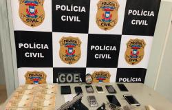 Polícia Civil prende mais três suspeitos com drogas e armas em continuidade de operação em Alta Floresta