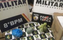 PM de Alta Floresta apreende três pessoas por tráfico de drogas na rodovia MT-208