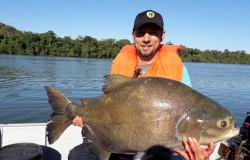 PESCA E TURISMO: Família de Alta Floresta destaca pesca do tambaqui no Rio Teles Pires